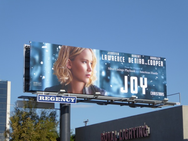 Joy movie billboard