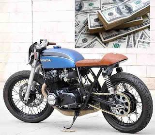 biaya motor custom
