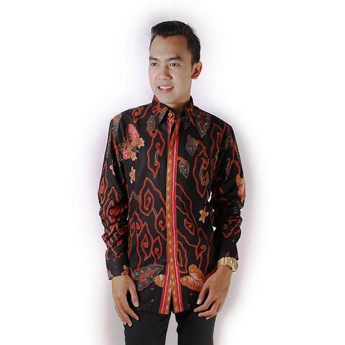 Model Kemeja Batik Motif Mega Mendung Modern Untuk Pria