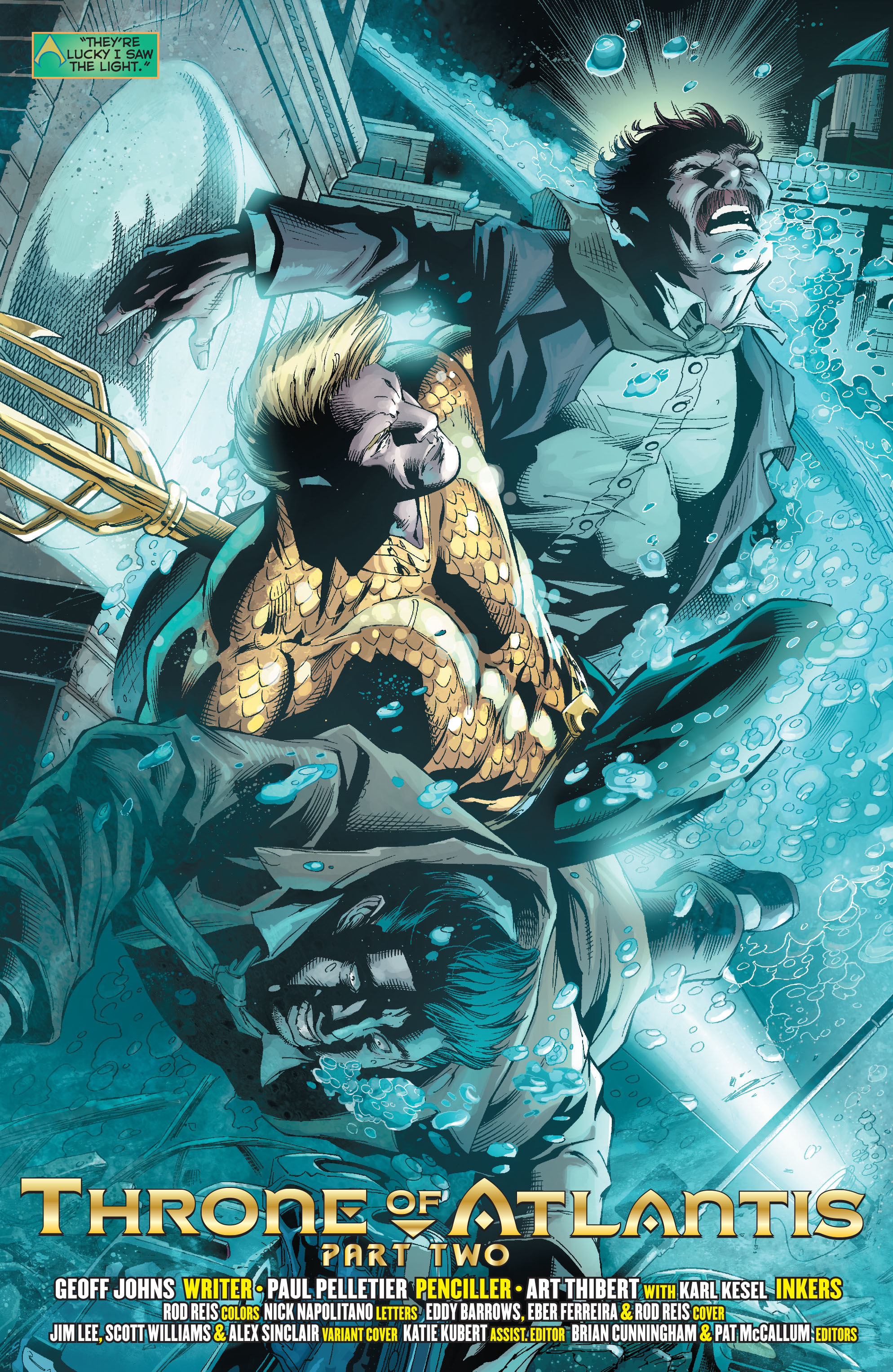 Read online Aquaman (2011) comic -  Issue #15 - 3
