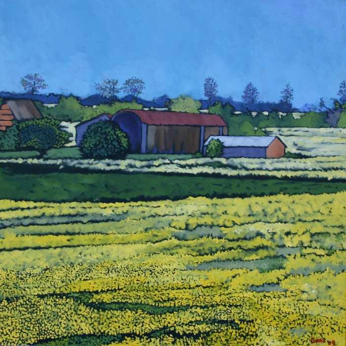 В ярких цветах. Anne Blankson-Hemans