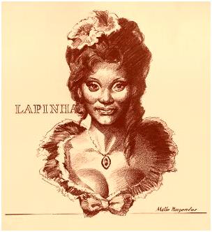 La célebre cantante lírica brasileña Lapinha