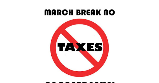 March Break Sales!
