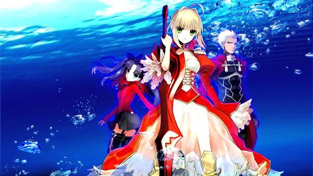 Nuevo Tráiler de Fate/Extra Last Encore (Opening)