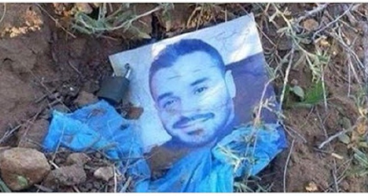 كان يمر فى المقابر وفاجاة ظهرت له صورة هذا الشاب فوق احدى القبور وكانت الكارثة