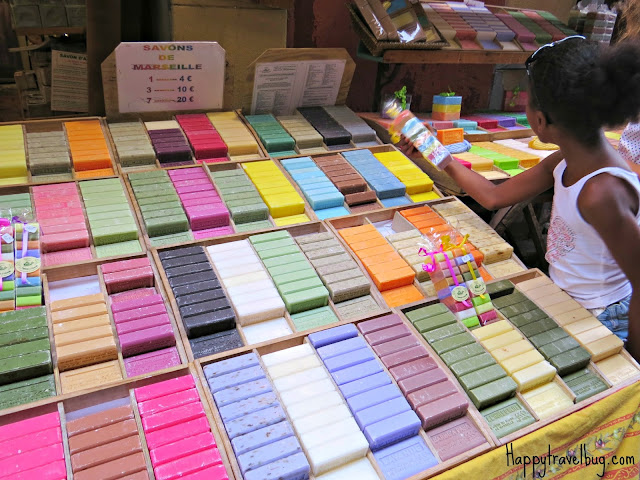 Beautiful French soap in Nice, France