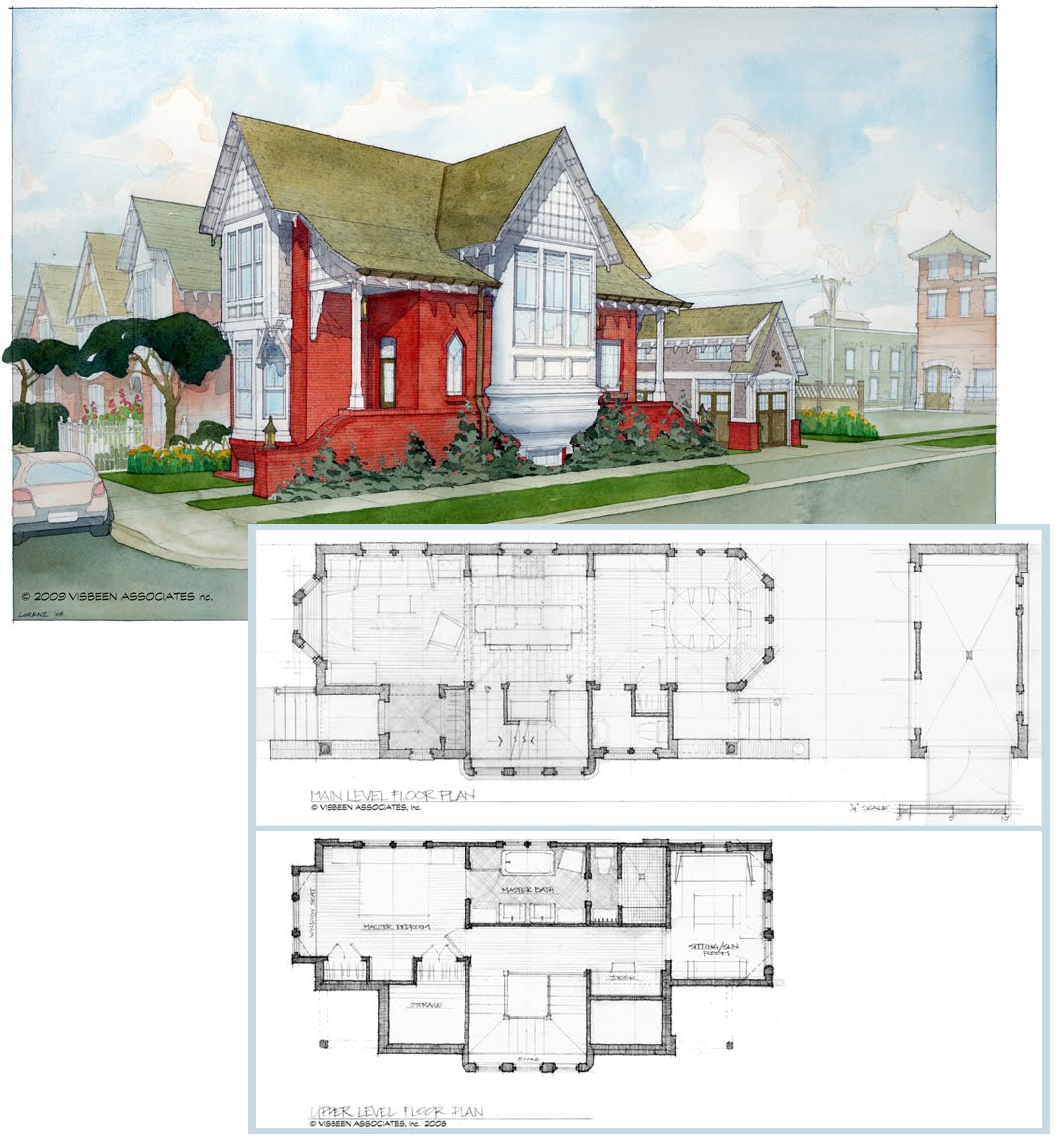 Visbeen Architects: Infill Home Designs