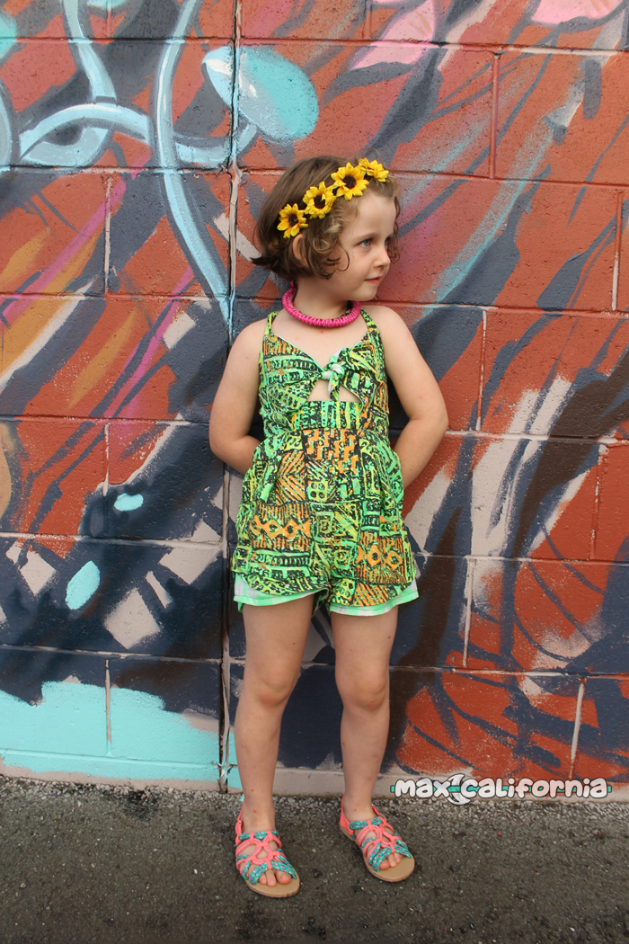 Santorini Sunsuit (pdf pattern) sewn by ☾ max-california.com