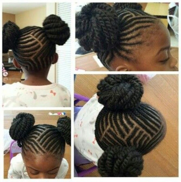 braided hairstyles little