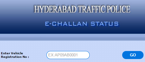 HTP EChallan Vehicle Pending Status