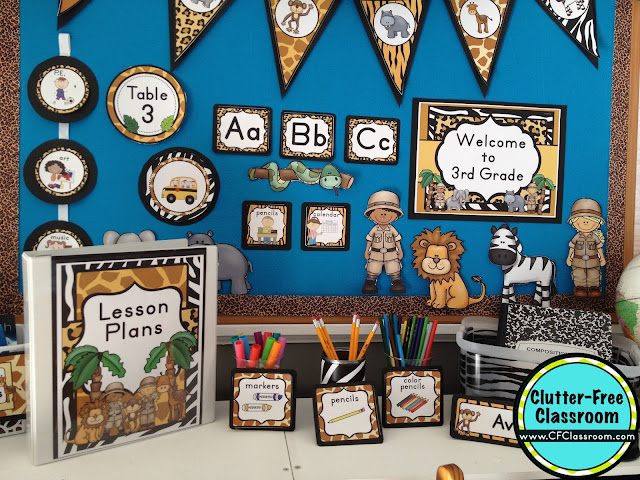 Exceptional Jungle Theme Classroom Decorating Ideas Part - 12: Are You Planning A Jungle Safari Themed Classroom Or Thematic Unit? This  Blog Post Provides