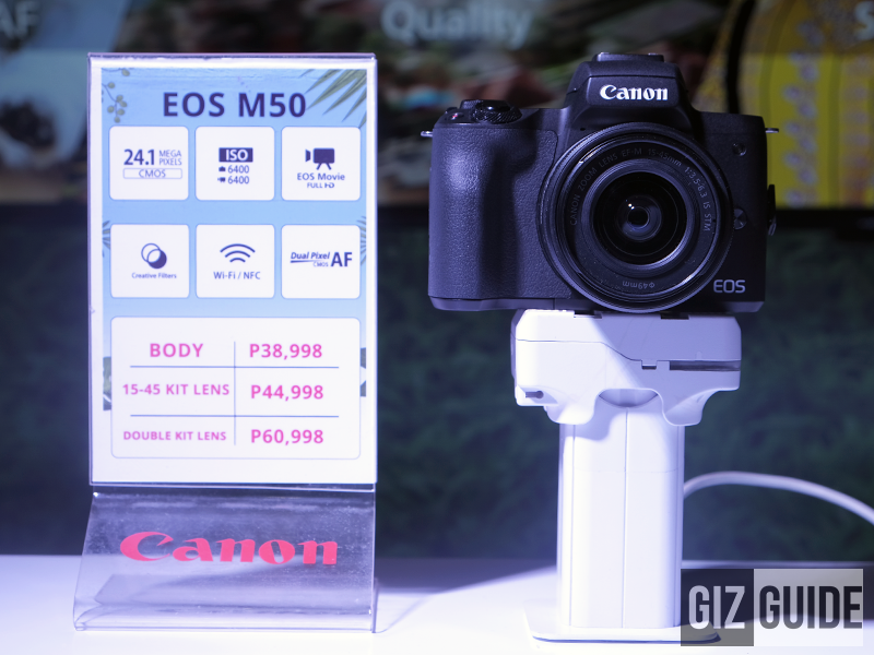 Canon announces EOS M50, 3000D, 1500D, and G1X Mark 3 in the Philippines!