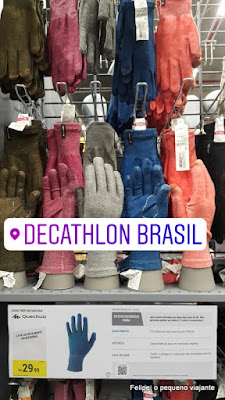Compras na Decathlon