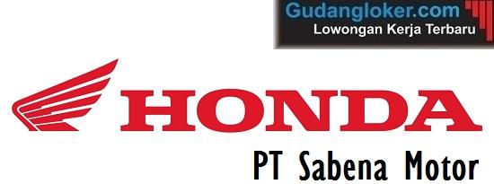 Lowongan Kerja PT Sabena Motor (Dealer Sepeda Motor Honda)