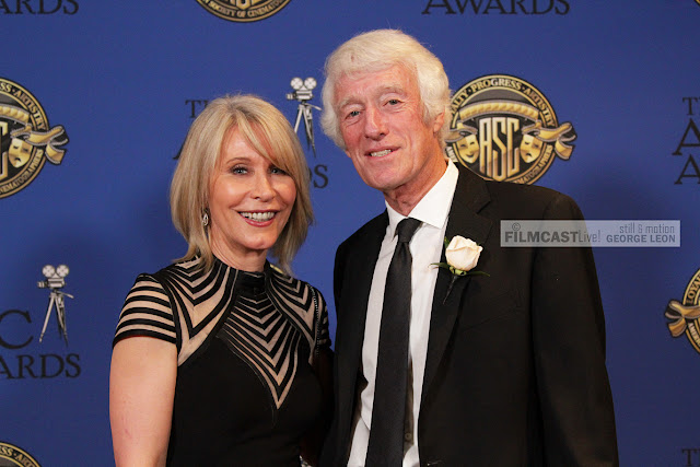 Award Winner Cinematographer Roger DEakins, ASC BSC and wife Isabella James Purefoy Ellis