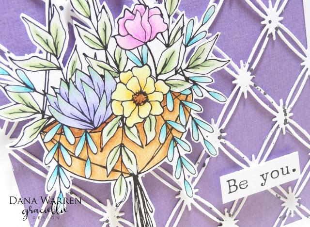 Dana Warren - Kraft Paper Stamps - Graciellie Designs - Spectrum Noir ColourBlend Pencils