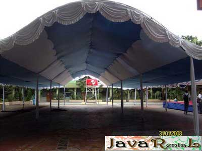 Rental Tenda Canopy - Acara