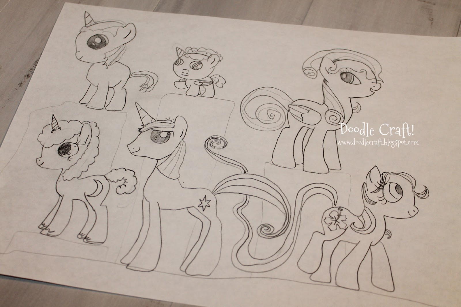 Design And Draw Your Own My Little Pony