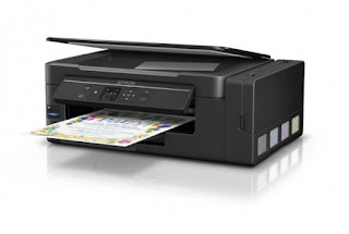 cellular multifunctional revolutionizes electrical flow economical climate too output inwards productive Epson EcoTank L495 Drivers Download