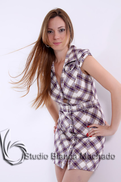fotos com modelo