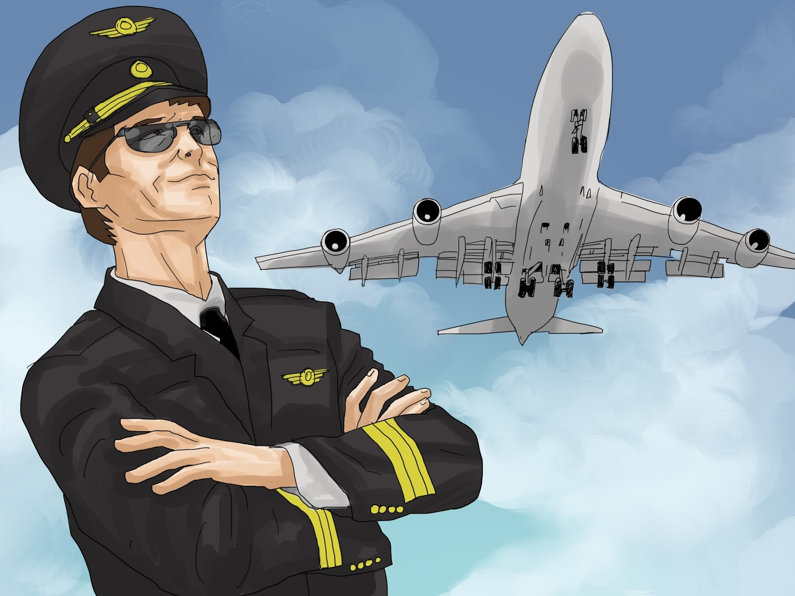 Words By Vk How To Become A Commercial Pilot A Short Guide