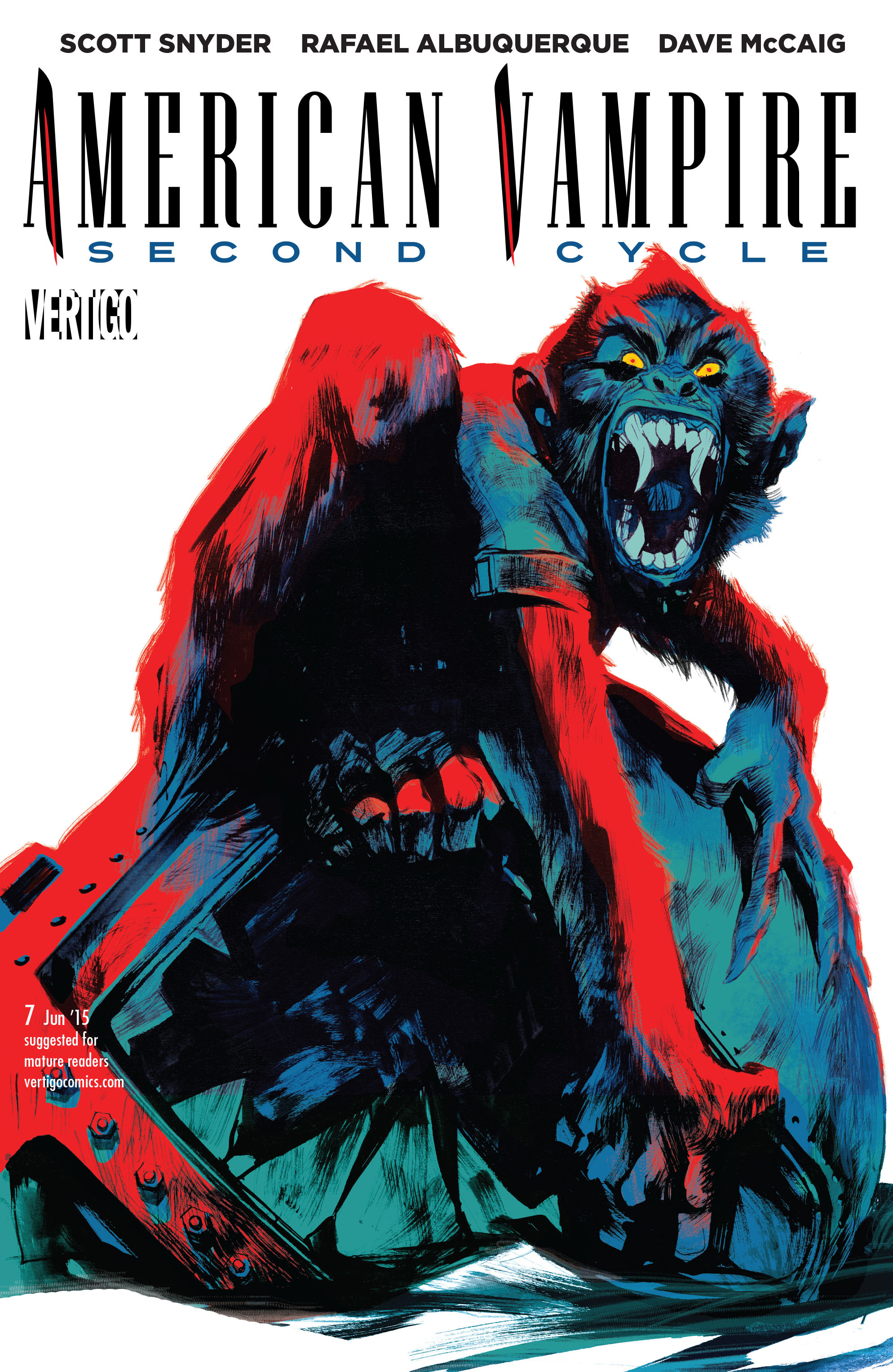 Read online American Vampire: Second Cycle comic -  Issue #7 - 1