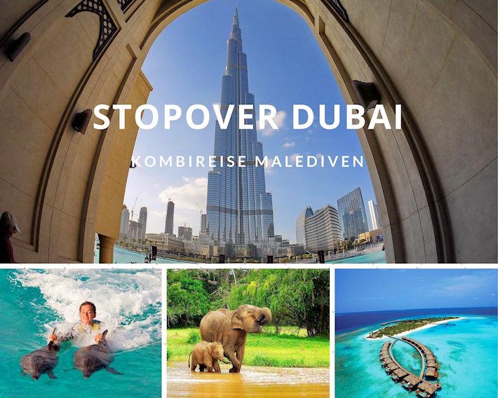 Kombireise Malediven mit Stopover Dubai
