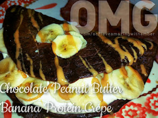 chocolate recipes, chocolate for breakfast, chocolate shakeology recipes, crepe recipes, healthy crepe recipes, fixate recipes, fixate chocolate protein crepes, 21 day fix recipes, 21 day fix container counts