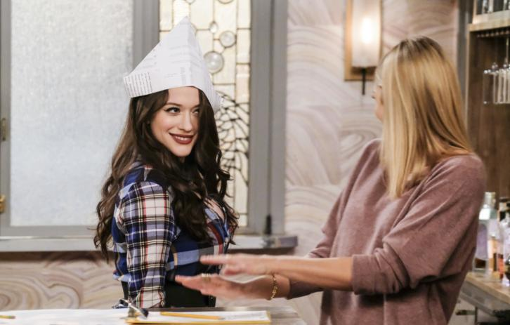2 Broke Girls - Episode 6.18 - And the Dad Day Afternoon - Promo, Promotional Photos & Press Release
