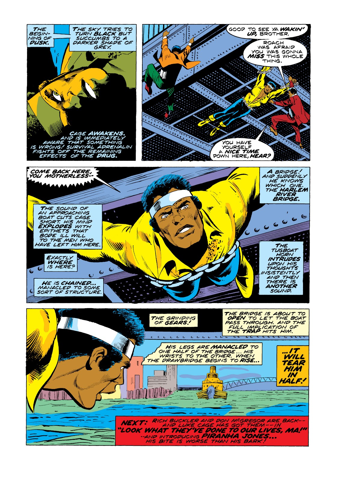 Read online Marvel Masterworks: Luke Cage, Power Man comic -  Issue # TPB 2 (Part 3) - 38