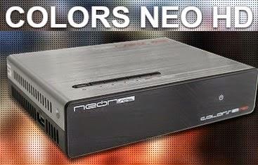 NEONSAT COLORS NEO HD NOVA ATUALIZAÇÃO V C100 - 24/08/2020