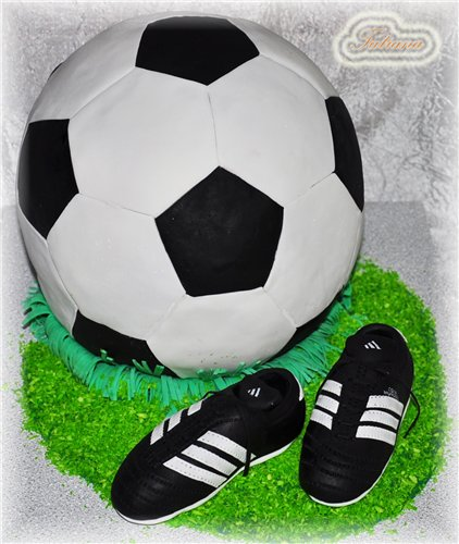 Ссылкой, картинки футбольные мячи для торта