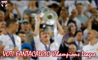 Voti Fantacalcio Champions League