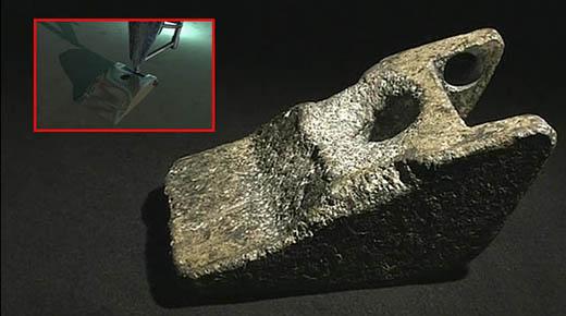 Descubren tren de aterrizaje de aluminio de una aeronave que visitó la Tierra 250.000 años atrás