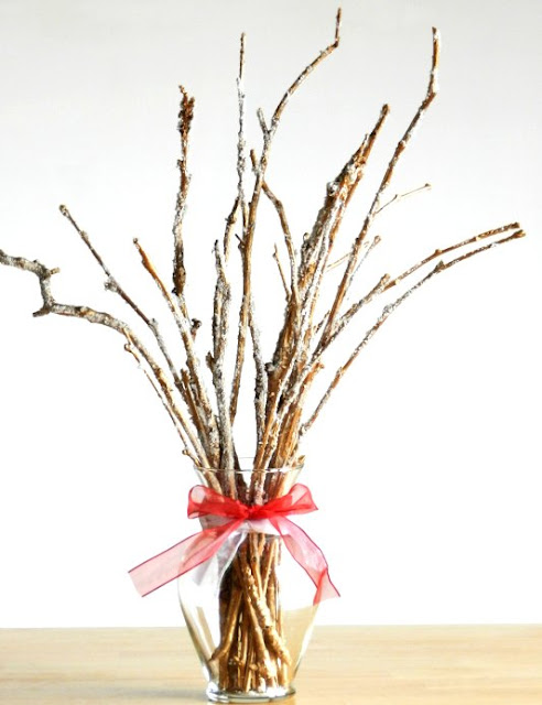 Frosted Twig Bouquet