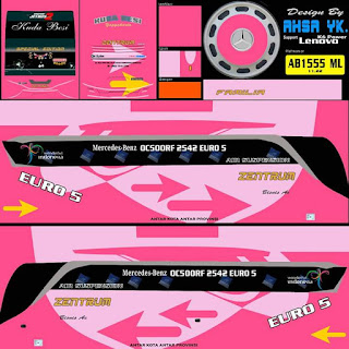 Download Livery Bus Zentrum Pink