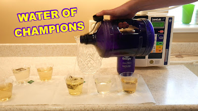 4. MICRO-CLUSTERING WATER (Hydration + Detox + Nutrition) Tea Test - Water of Champions