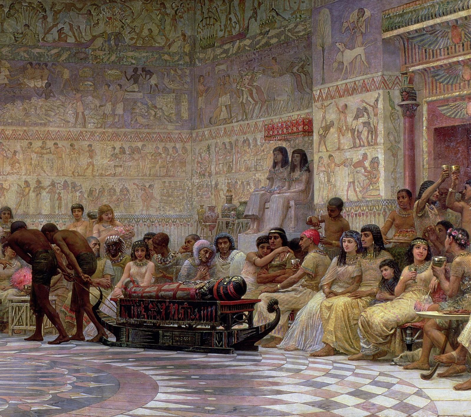 Эротические египетские пиры про женскую мастурбацию