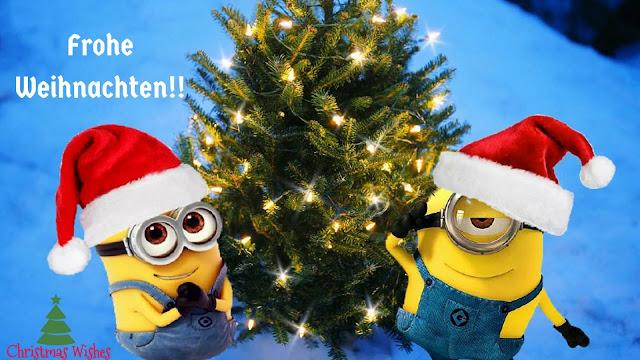 fröhliche, frohe weihnachts, weihnachten, minions bilder, wallpaper