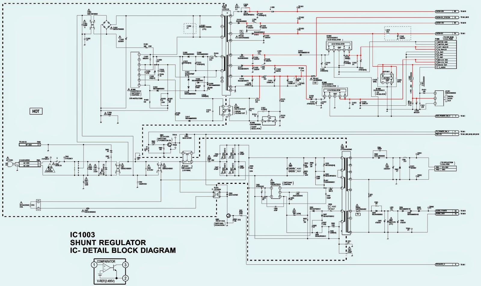 Smps Circuit Diagram Wiring Diagrams For Dummies Of Panasonic Ag 520vdh Tv Dvd Vcr Combination And Working