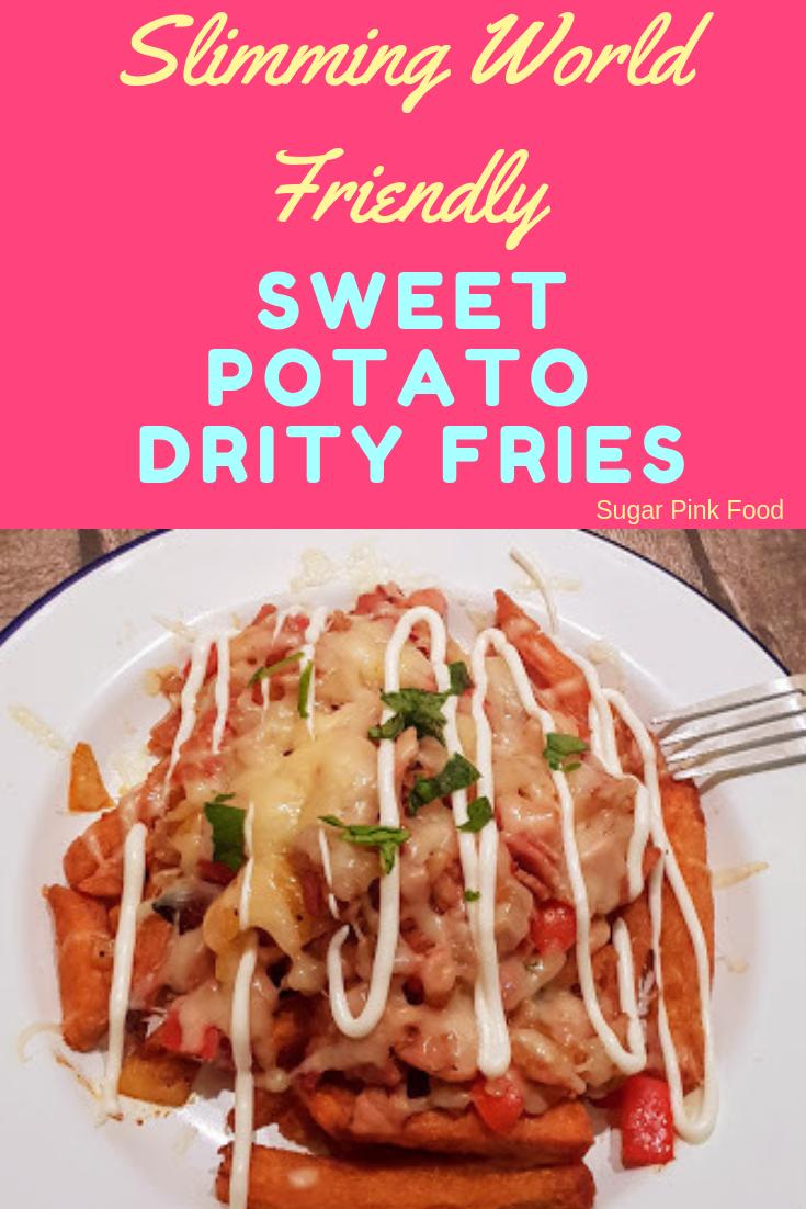 Sweet Potato Dirty Fries