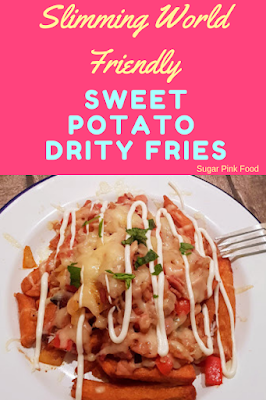 sweet potato dirty fries slimming world syn free low syn recipe