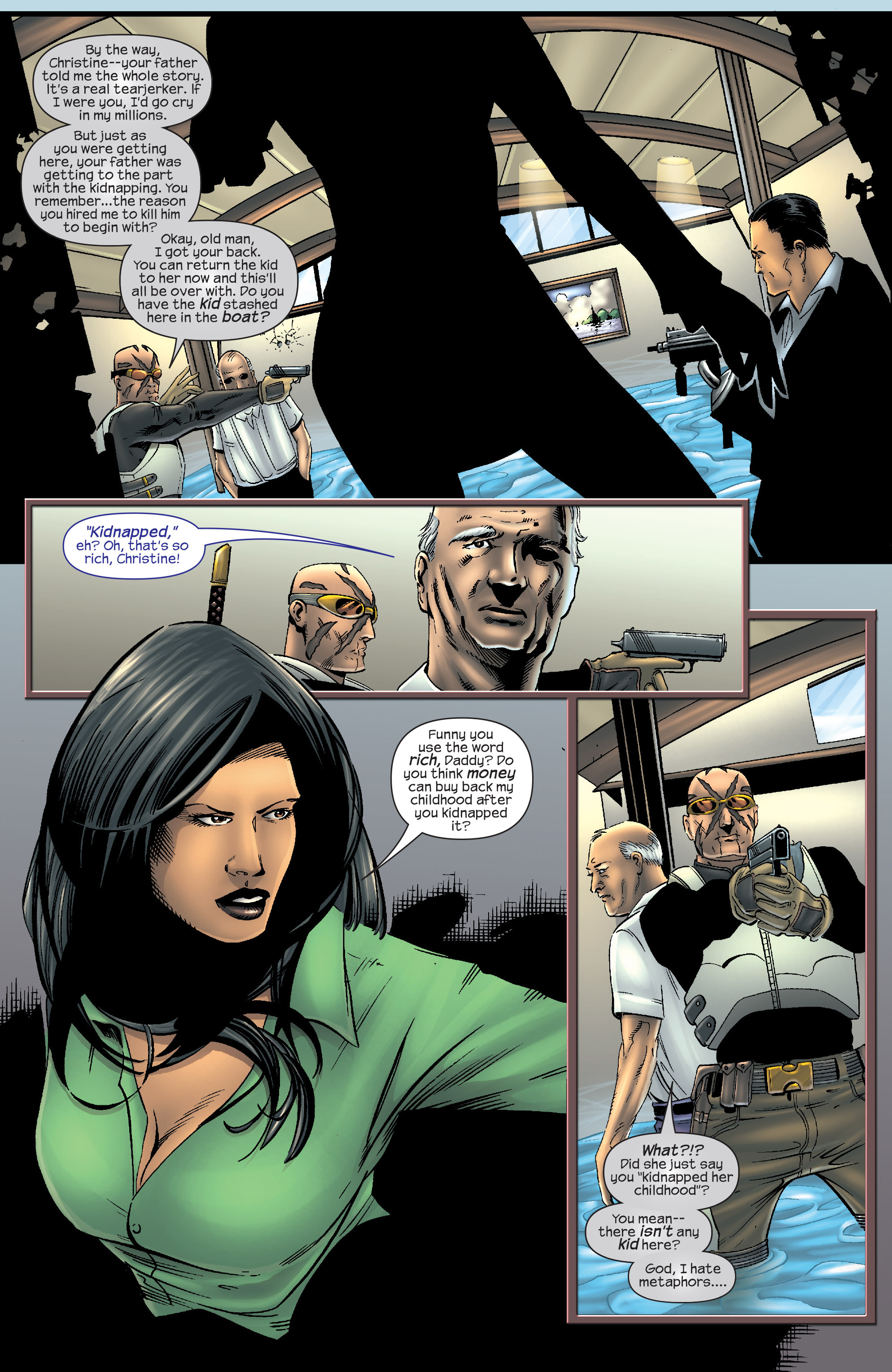 Read online Agent X comic -  Issue #9 - 20