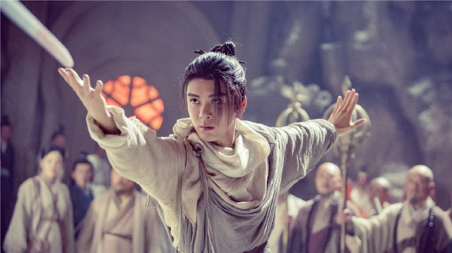 heavenly sword dragon slaying saber 2019 cdrama joseph zeng