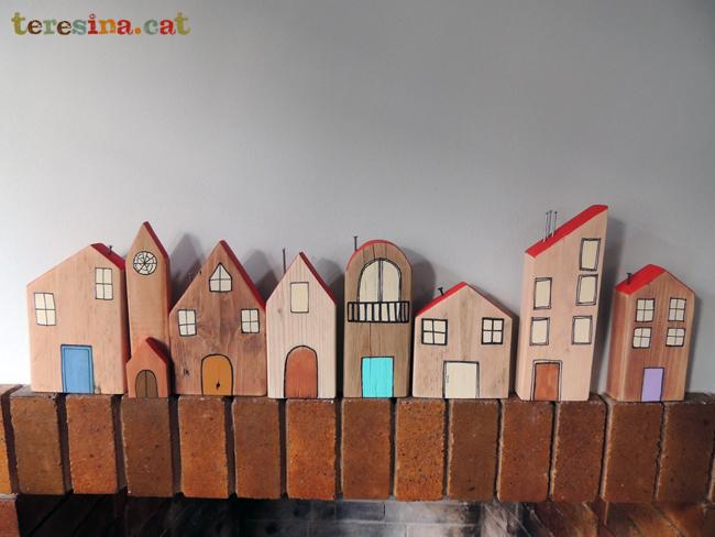 Casitas de madera