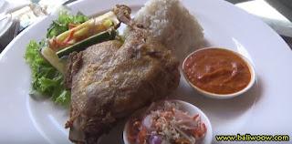 Bebek Bengil Savory at Prana Restaurant