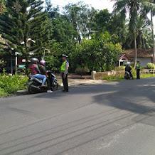 Puluhan Sepeda Motor Terjaring Razia Polisi