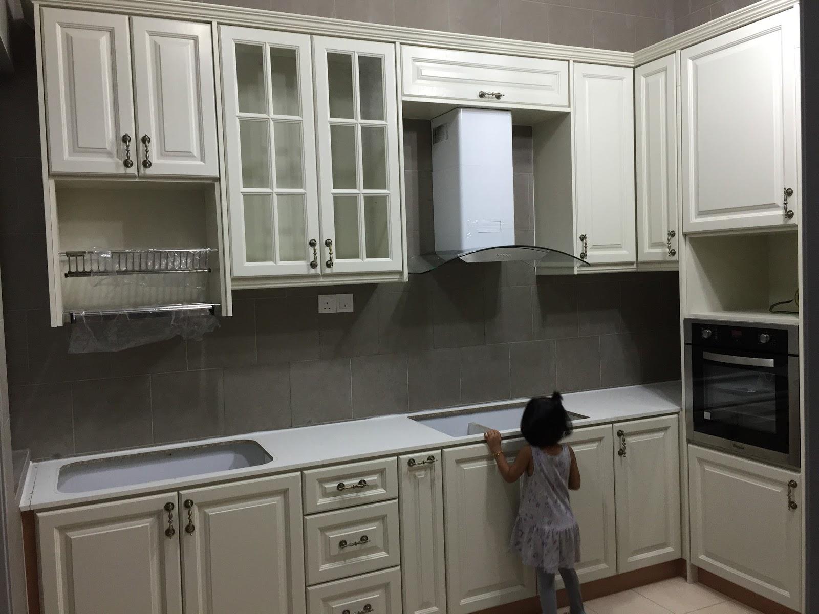 Hazwanie Kitchen Cabinet Solid Nyatoh