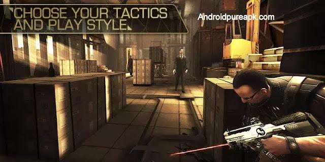 Deus Ex: The Fall Apk Download Mod+Hack+Data