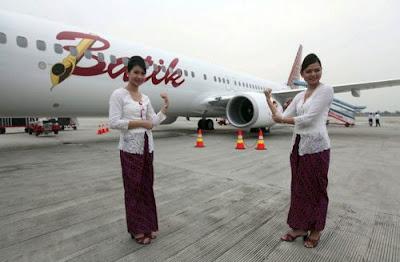 Desain Baju Pramugari Batik Air
